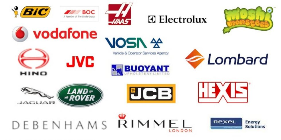 Trusted by Logos Collage