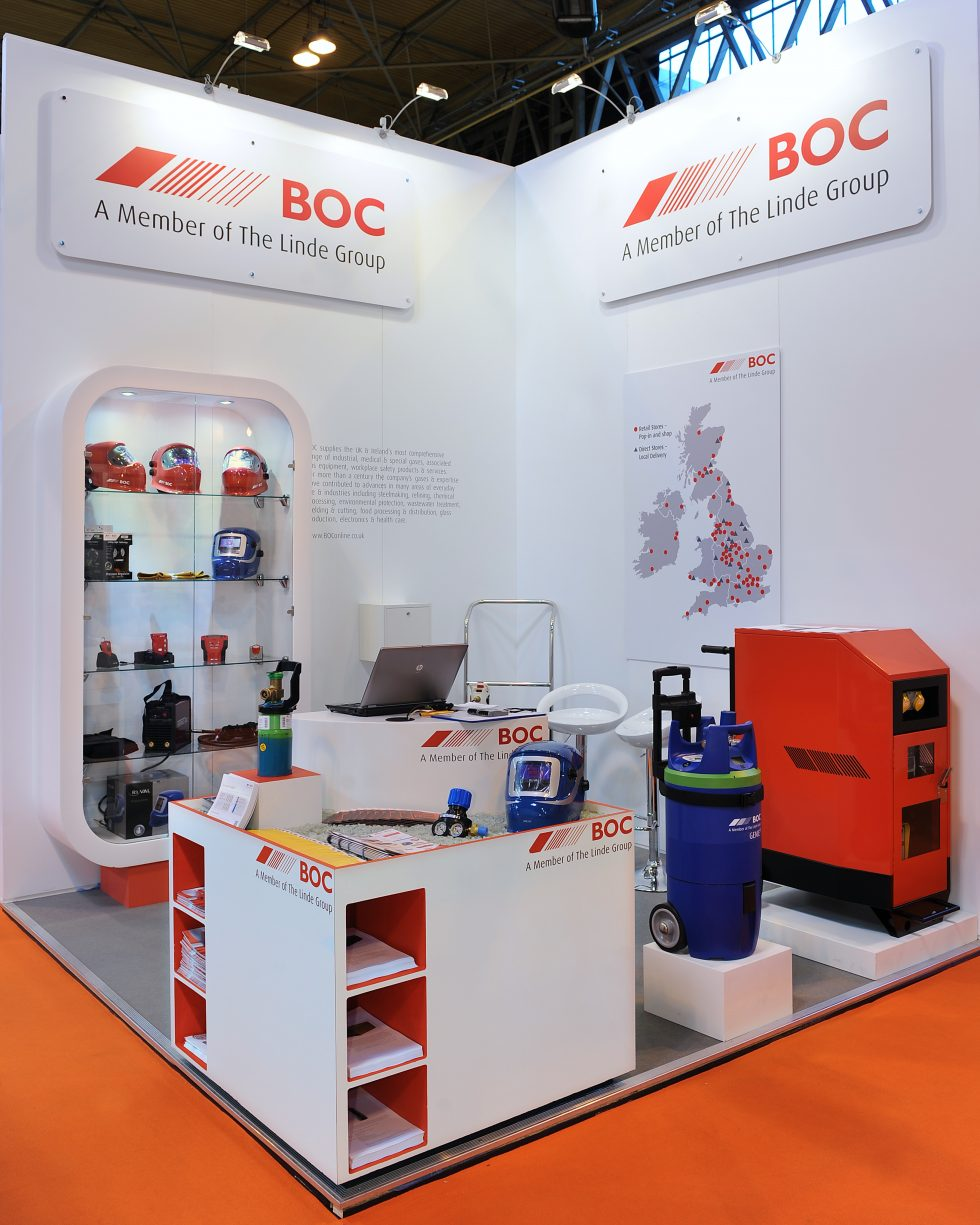 bespoke exhibition stand - Exh Boc