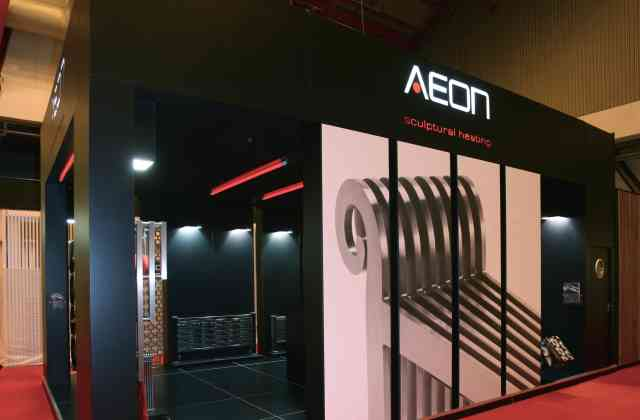 bespoke exhibition stand - Exh Aeon 02
