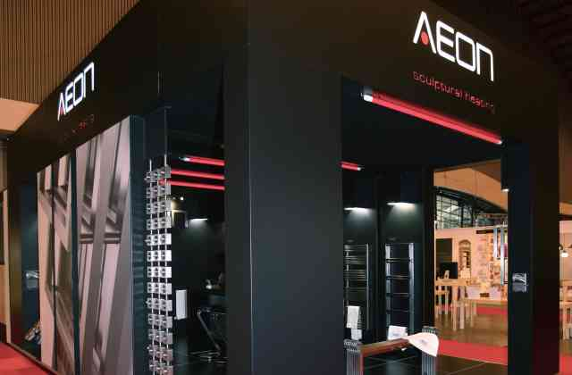 bespoke exhibition stand - Exh Aeon 03