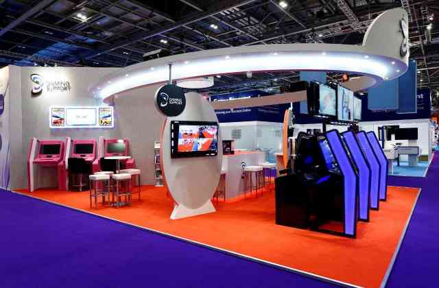 bespoke exhibition stand - Exh Gaming Support 04