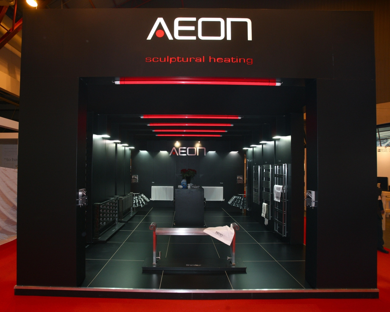 bespoke exhibition stand - Exh Aeon 01