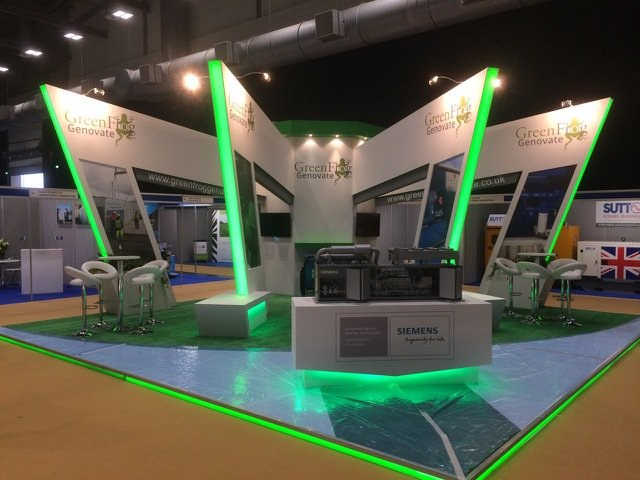 Example of 01EX exhibition stand work