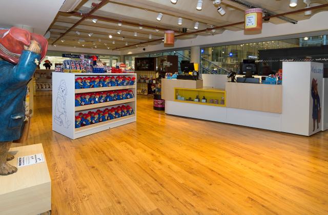 Retail store design and shop interior installation
