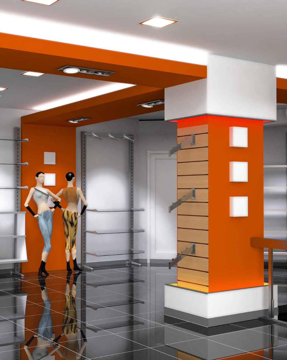 Retail store design and shop interior installation