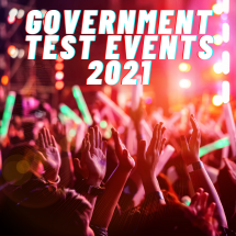 Route Back To UK Exhibitions In 2021 – Government Test Events